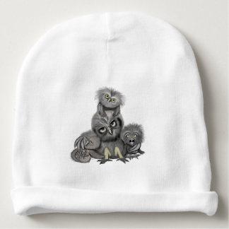Gorro Para Bebê Família da coruja