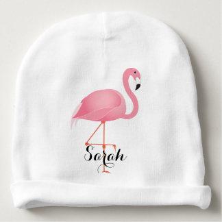 Gorro Para Bebê Flamingo cor-de-rosa