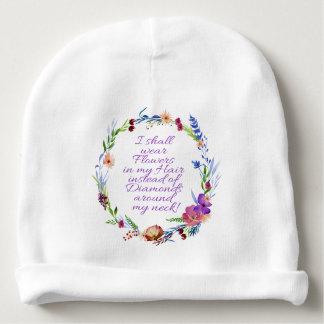 Gorro Para Bebê Flores fantásticas