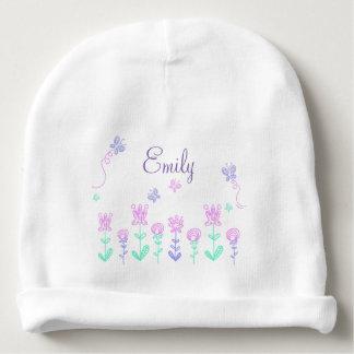 Gorro Para Bebê Flores personalizadas e boné conhecido do bebé