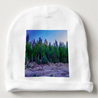 Gorro Para Bebê Floresta & céu do vale de Yosemite