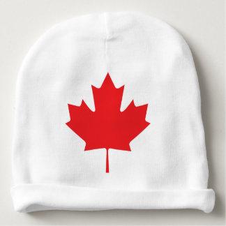 Gorro Para Bebê Folha de bordo canadense