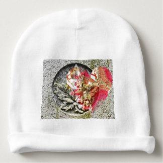 Gorro Para Bebê Fractal filigrana de Canadá do amor