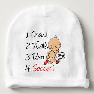 Gorro Para Bebê Futebol do funcionamento da caminhada do