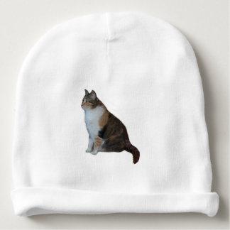 Gorro Para Bebê Gato de chita