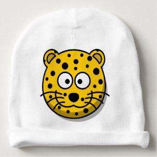 Gorro Para Bebê Gato de leopardo de sorriso dos desenhos animados