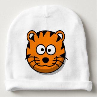 Gorro Para Bebê Gato de tigre de sorriso dos desenhos animados