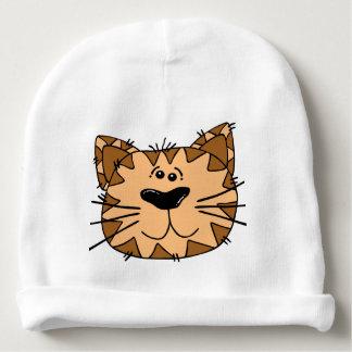 Gorro Para Bebê Gato selvagem de sorriso dos desenhos animados