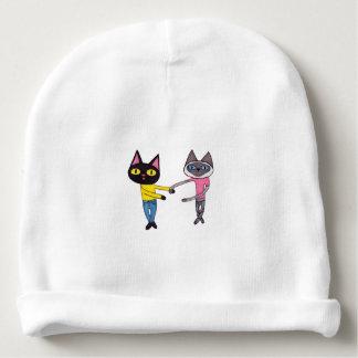Gorro Para Bebê Gatos de BFFs (bandeja & Chibi)