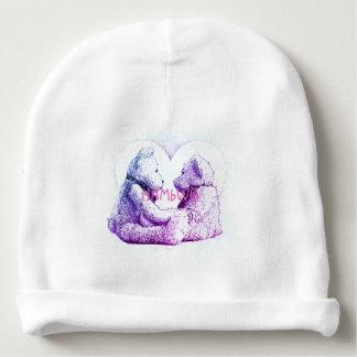 Gorro Para Bebê HAMbyWG - Beanie do bebê - amor do urso de ursinho