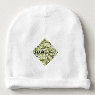 Gorro Para Bebê HAMbyWG - Beanie do bebê - camuflagem verde