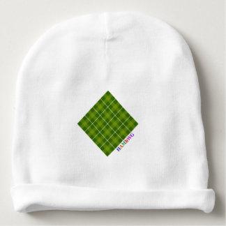 Gorro Para Bebê HAMbyWG - Beanie do bebê - L. Verde Xadrez