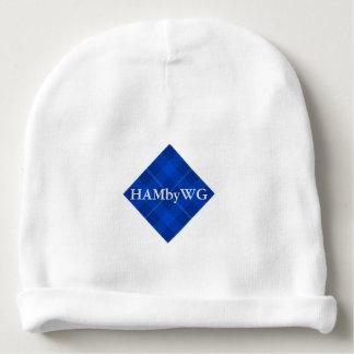Gorro Para Bebê HAMbyWG - Beanie do bebê - xadrez azul