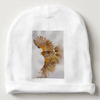 Gorro Para Bebê Harris Hawk, pássaro de rapina