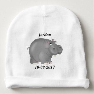 Gorro Para Bebê Hipopótamo bonito do bebê do miúdo