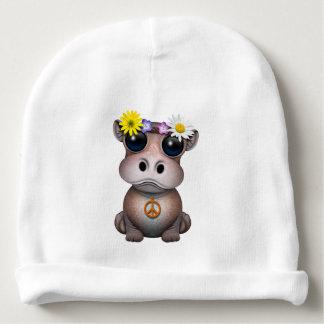 Gorro Para Bebê Hippie bonito do hipopótamo do bebê