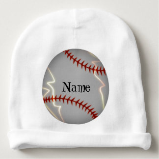 Gorro Para Bebê Iluminação personalizada do basebol