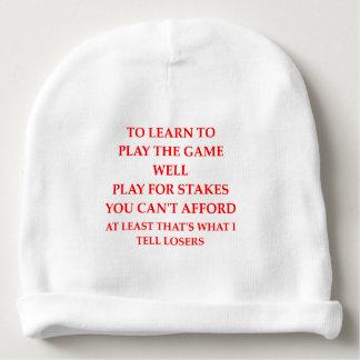 Gorro Para Bebê jogador do jogo