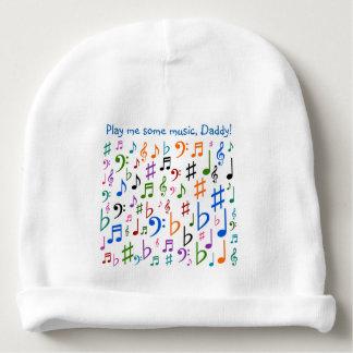 Gorro Para Bebê Jogue-me alguma música, pai!