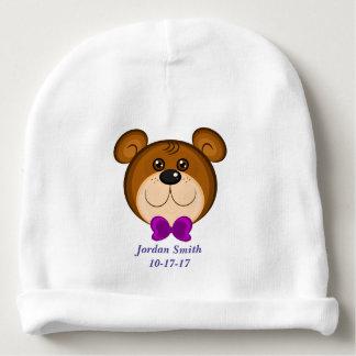 Gorro Para Bebê Laço bonito do urso de ursinho do bebê