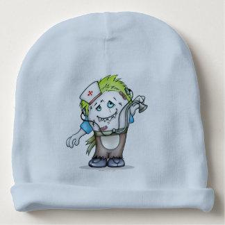 Gorro Para Bebê Luz ESTRANGEIRA B do Beanie do algodão dos
