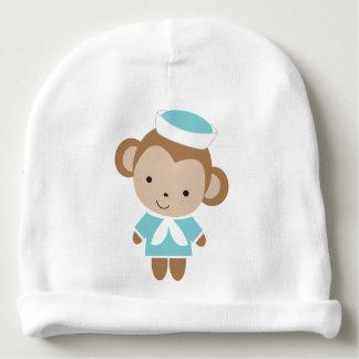 Gorro Para Bebê Macaco animal do marinheiro do bebê bonito