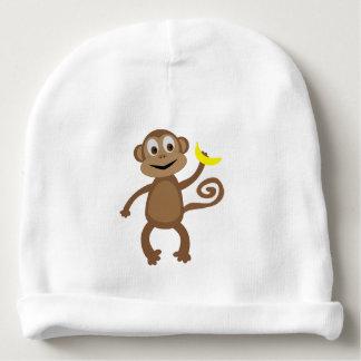 Gorro Para Bebê Macaco - chapéu recém-nascido da floresta húmida