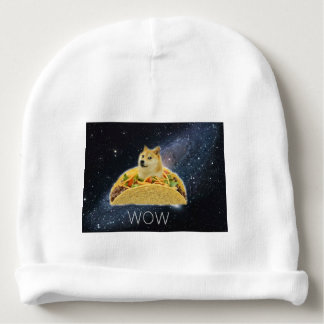 Gorro Para Bebê meme do taco do espaço do doge
