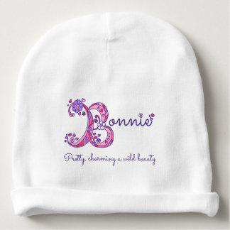 Gorro Para Bebê Meninas Bonnie nome & chapéu do bebê do