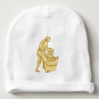 Gorro Para Bebê Miller medieval com desenho do balde