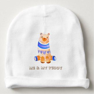 Gorro Para Bebê Mim & meu Beanie da criança do ursinho