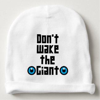Gorro Para Bebê Não acorde o gigante