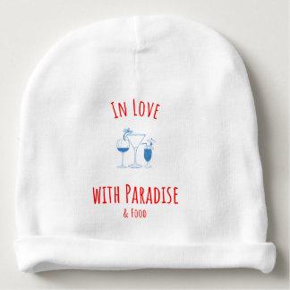 Gorro Para Bebê No amor com Beanie do paraíso