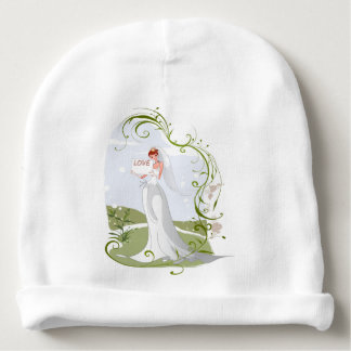 Gorro Para Bebê Noiva romântica na natureza