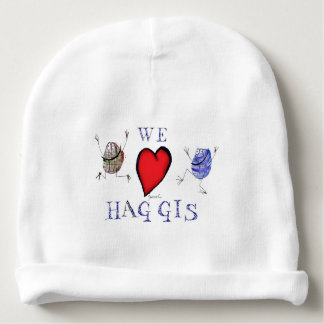 Gorro Para Bebê nós amamos haggis