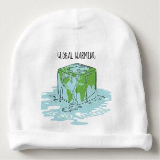 Gorro Para Bebê O aquecimento global é tão Uncool