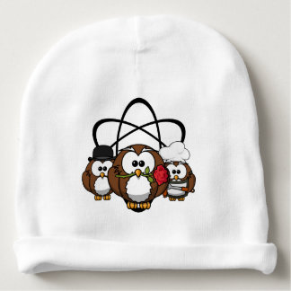 Gorro Para Bebê O chapéu grande do inverno da teoria da coruja