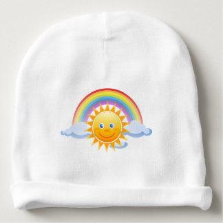 Gorro Para Bebê O escritório dos céus do arco-íris personaliza
