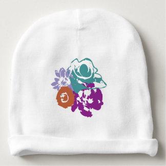 Gorro Para Bebê O gráfico floresce o chapéu do Beanie do bebê