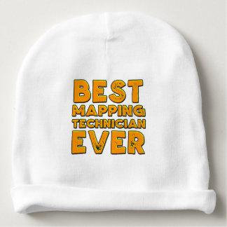Gorro Para Bebê O melhor técnico de traço nunca