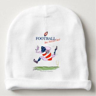 Gorro Para Bebê O nascer do futebol produziu fernandes orgulhosos,