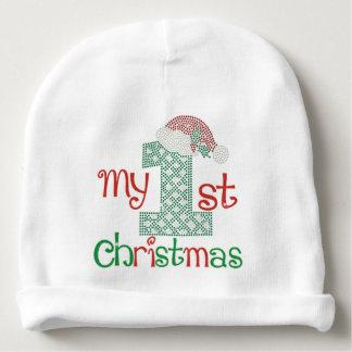 Gorro Para Bebê O primeiro Natal do bebê