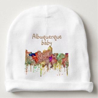 Gorro Para Bebê O SG da skyline de Albuquerque New mexico