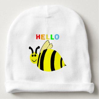Gorro Para Bebê Olá! o sorriso amarelo Bumble o chapéu do bebê da