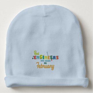 Gorro Para Bebê Os engenheiros são em fevereiro Zltl5 nascidos