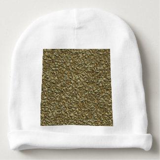Gorro Para Bebê ouro de pedra irregular
