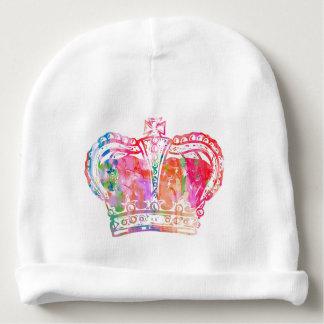 Gorro Para Bebê Pacifier da coroa