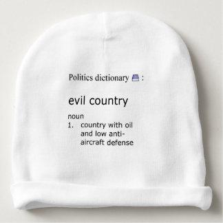 Gorro Para Bebê País mau