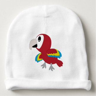 Gorro Para Bebê Papagaio - chapéu recém-nascido da floresta húmida