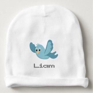 Gorro Para Bebê Pássaro azul personalizado